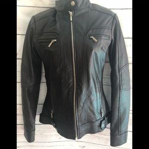 Sleek Genuine  Leather Jacket